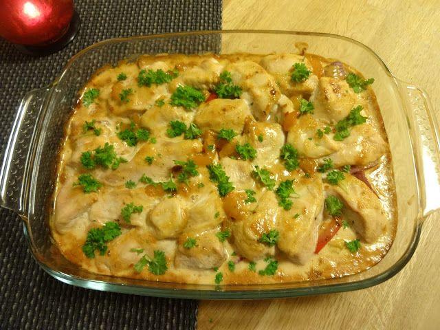 Edel's Mat & Vin : BBQ Kyllingform med grønnsaker ✿