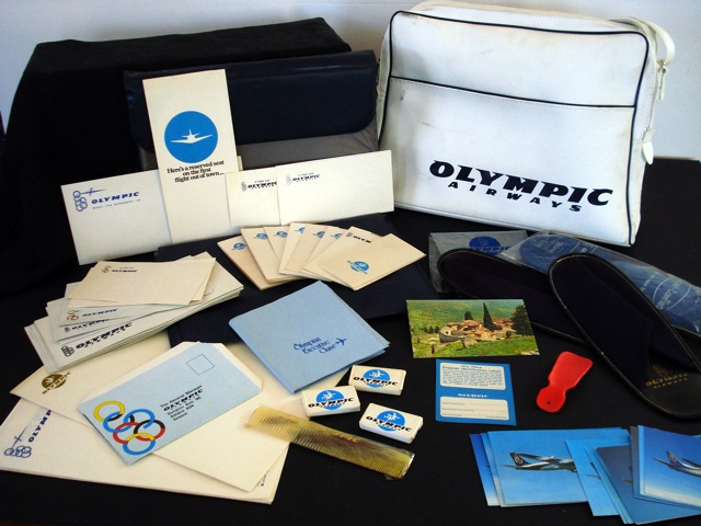 olympic airways stationery