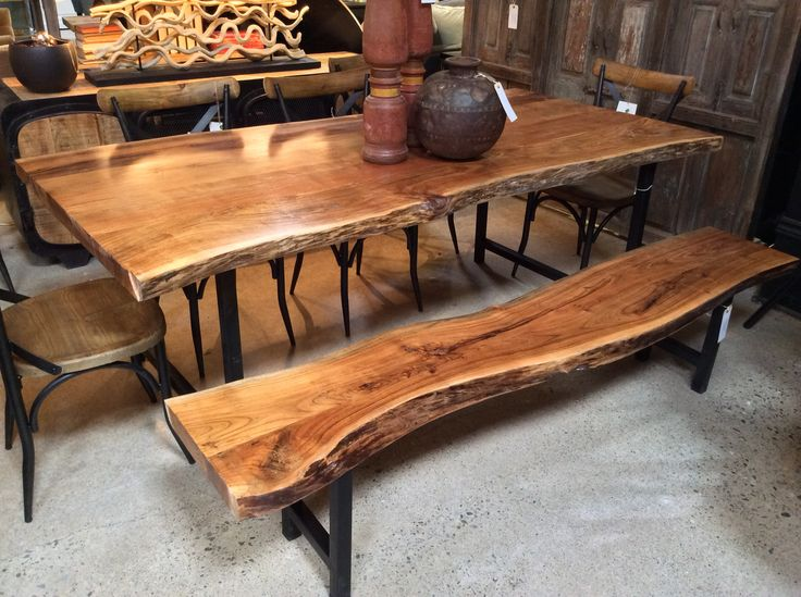 The Natural, Rustic Palette Of The Rabdi Dining Table Invites Warm Flowing  Conversation To Any