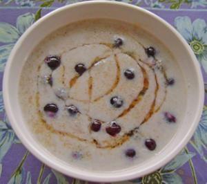 Blueberry Amaranth Porridge -The Whole Grains Council. Amaranth, milk ...