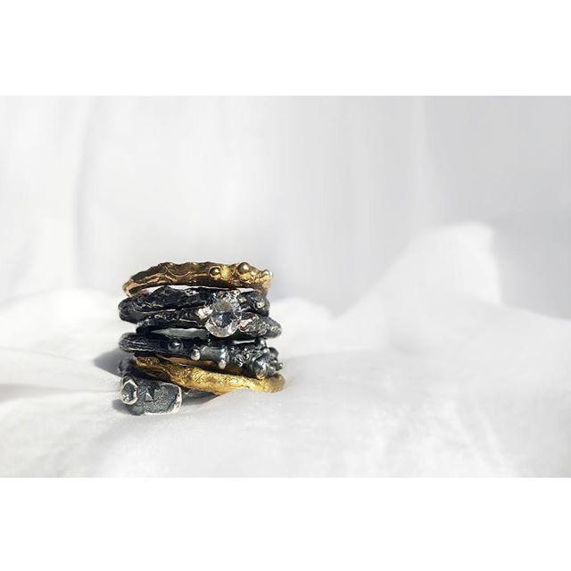 #inspiredbynature #new #newiscoming #rings #art #madeforyou #anna #jewelry #design #designer #polishart #polishbrand #brand #silver #silverjewelry #gold #stone #goldjewelry #ruby #gemstonejewelry #mix #mixandmatch #possibilities #annasamkow # samkow #warsaw # biżuteria # obrączki # pierścionki