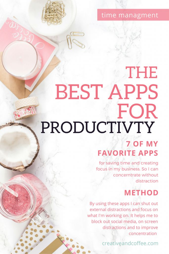 Some of the best productivity apps for bloggers to save you time and to help stop you getting distracted whilst working on building your empire. via @Creative & Coffee