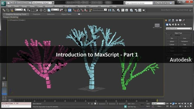 Introduction to MaxScript - Creating a Voxel Tree - Part 1