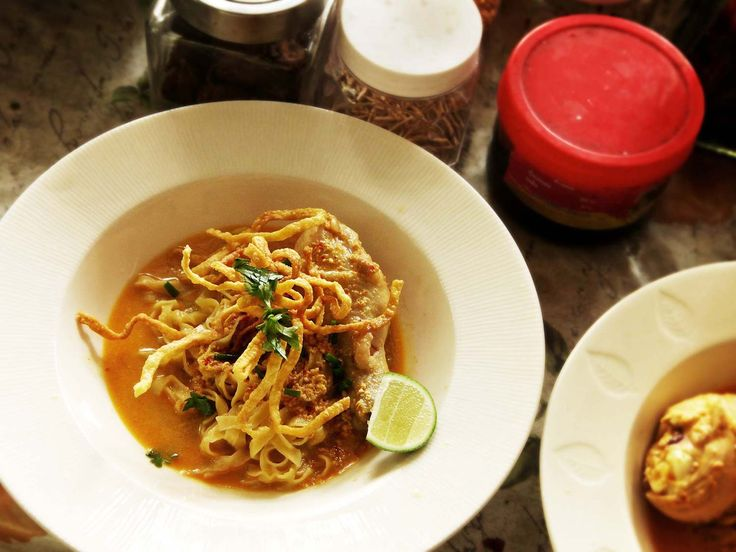 Recipes From Chiang Mai: How to Make Real Deal Khao Soi Gai (Coconut ...