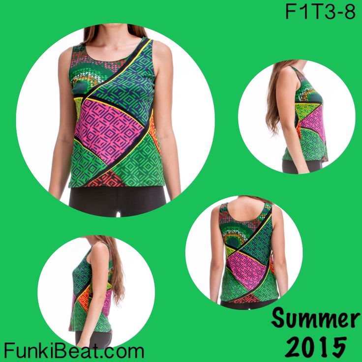 Summer is clearly here,  so why not add Singlet/Tank Top: Multi Diamonds to your outfit, what with Australia's heat - It's practically necessary :) http://goo.gl/CpH8zl #FunkiBeat #AUSSummer #Summer2015