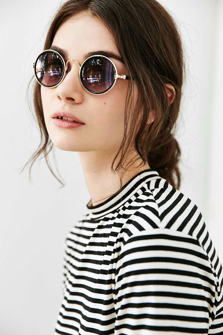 ray ban sunglasses women round black