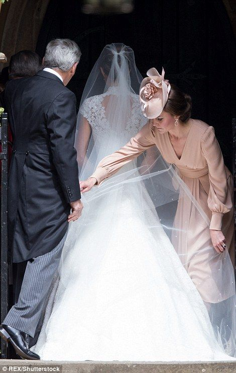 Kate seemed determined to make sure Pippa's wedding went ahead without a hitch...