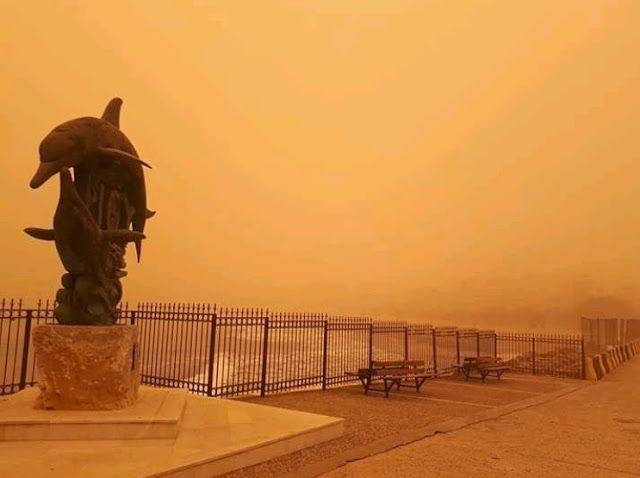 Η αφρικανική σκόνη και το πείραμα στην Κρήτη (video) - kavalarissa.eu