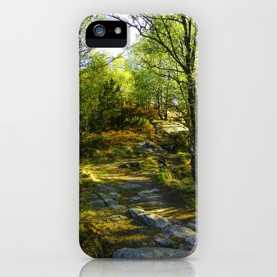 Norwegian Woods  iPhone & iPod Case by Håkon Jørgensen - $35.00