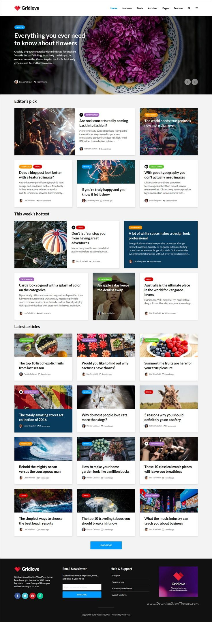 Gridlove is a creative grid style #WordPress theme with a focus on #news and magazine #websites with many predefined layouts download now➩ https://themeforest.net/item/gridlove-creative-grid-style-news-magazine-wordpress-theme/17990371?ref=Datasata