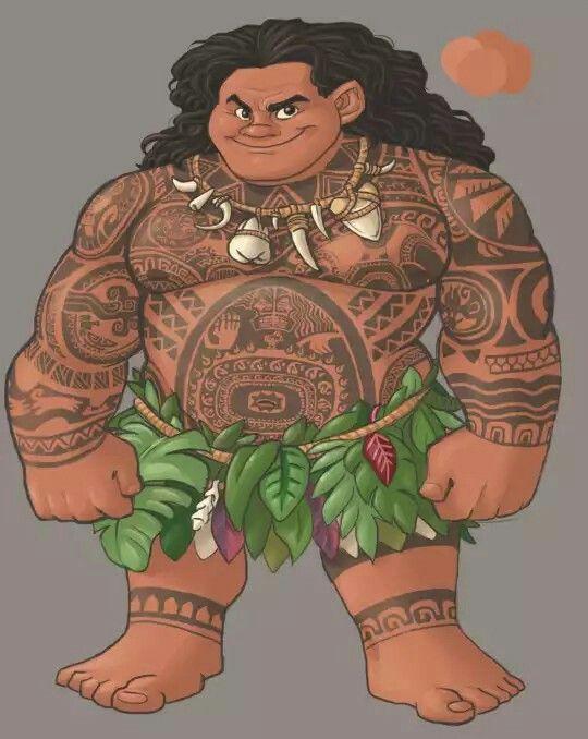 Maui's Tattoos