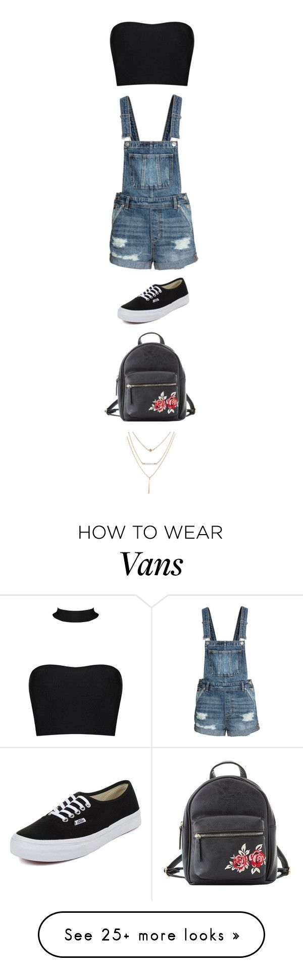 """Untitled #4752"" by twerkinonmaz on Polyvore featuring Vans and Charlotte Russe"