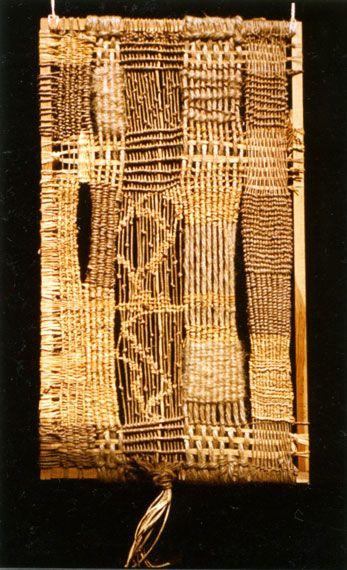 ARTISS / Oeuvres Transparence et végétaux Raphia, lin, jute