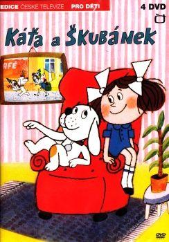 Oblíbený Večerníček České televize Káťa a Škubánek na DVD z Edice České televize.