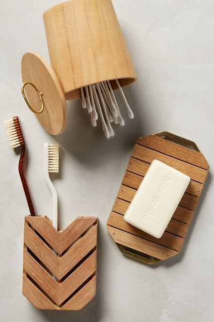 #anthrofave Teak Bath Collection - anthropologie.com