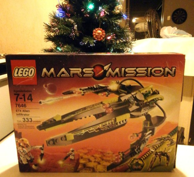 Lego Mars Mission ETX Alien infiltrator Building Set #7646 4 figures included. Coming soon to EBay!