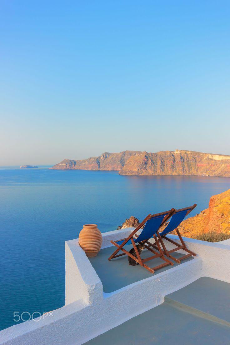 View for 2, Oia, Santorini, Greece