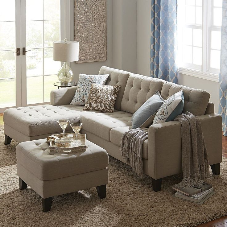Build Your Own Nyle Sectional - Stone | Pier 1 Imports