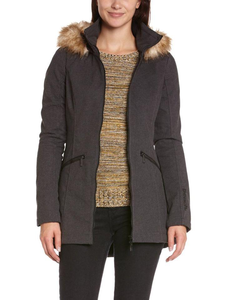 Manteau Bench femmme avec fourrure | BENCH