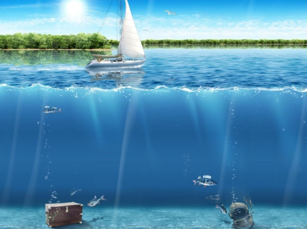 22 Amazing Water, Ocean and Sea 3D Photos