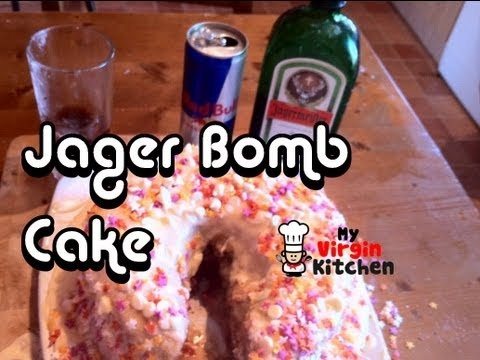 Jager And Red Bull Cake