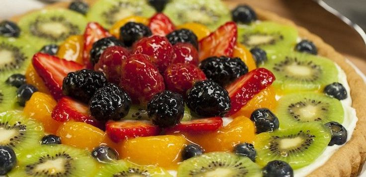 Sugar Cookie Fruit Tart - Recipe & Video | TipHero