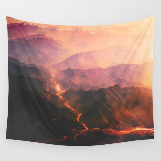 Lava Wall Tapestry
