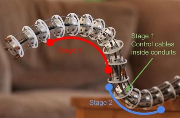 Movie Animatronics monsters inspire DIY life-like tentacle with the help of 3D printing