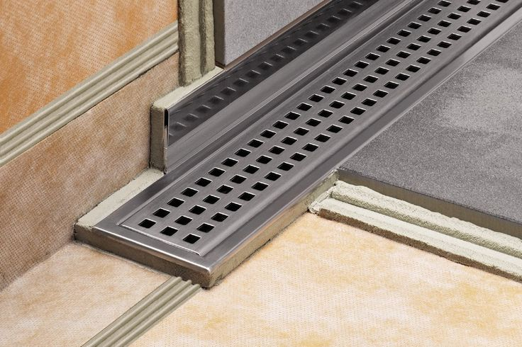 Schluter 174 Kerdi Line Low Profile Linear Floor Drain In