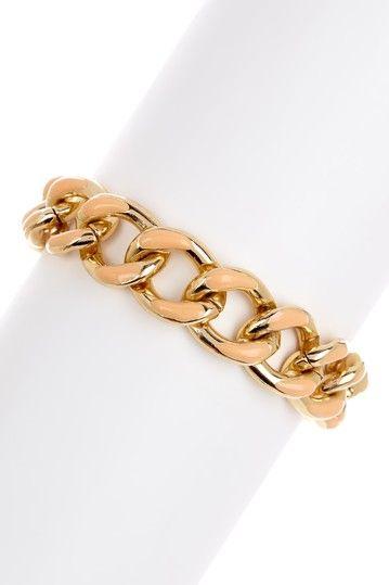 Nantucket Chain Link Bracelet by Monique Leshman on @HauteLook