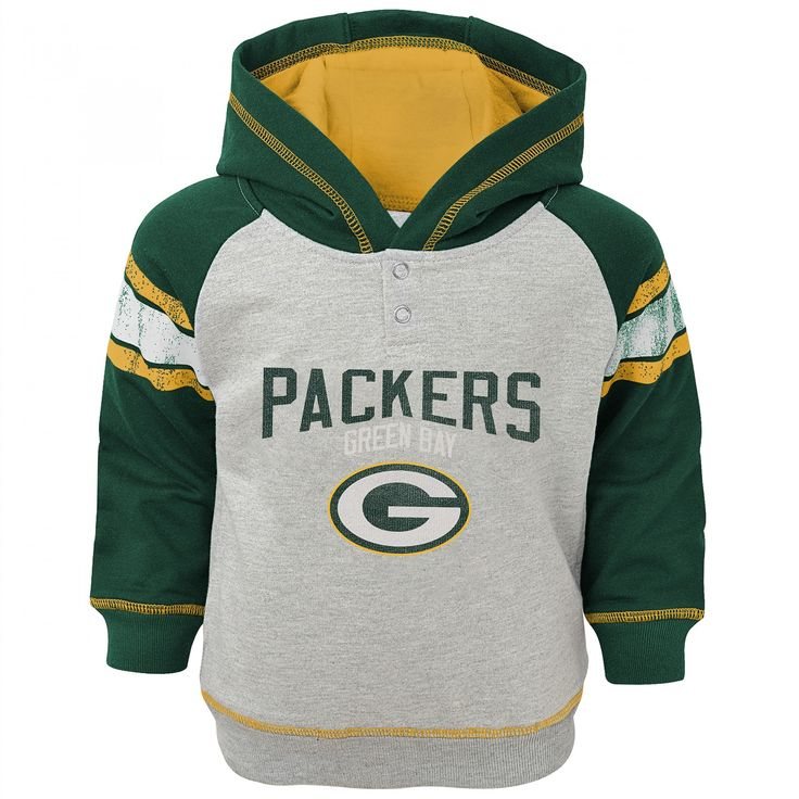 Green Bay Packers Pre-School Classic Stripe Hoodie at the Packers Pro Shop