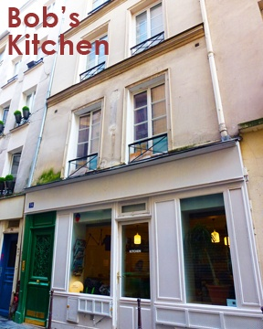 Where to go for some of the best green juices in Paris? Bob's Kitchen.