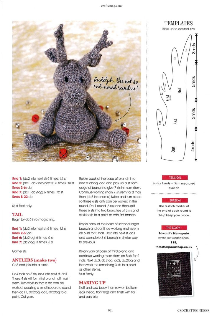 Toft Alpaca in Crafty Christmas Makes 2013