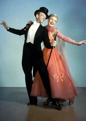 "Vintage Glamour Girls: Ginger Rogers & Fred Astaire in "" The Barkleys of ..."
