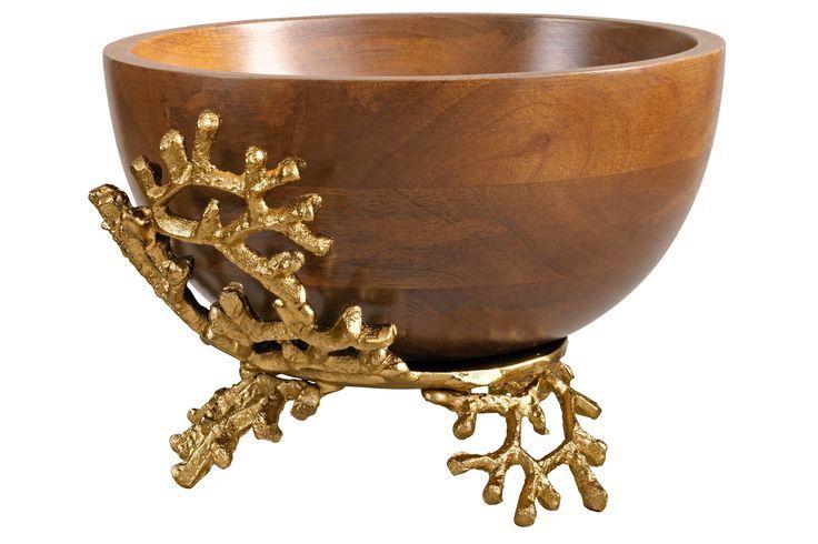 Deko-Schale gold, H/Ø ca. 18/25,5cm, heine home Jetzt bestellen unter: mo