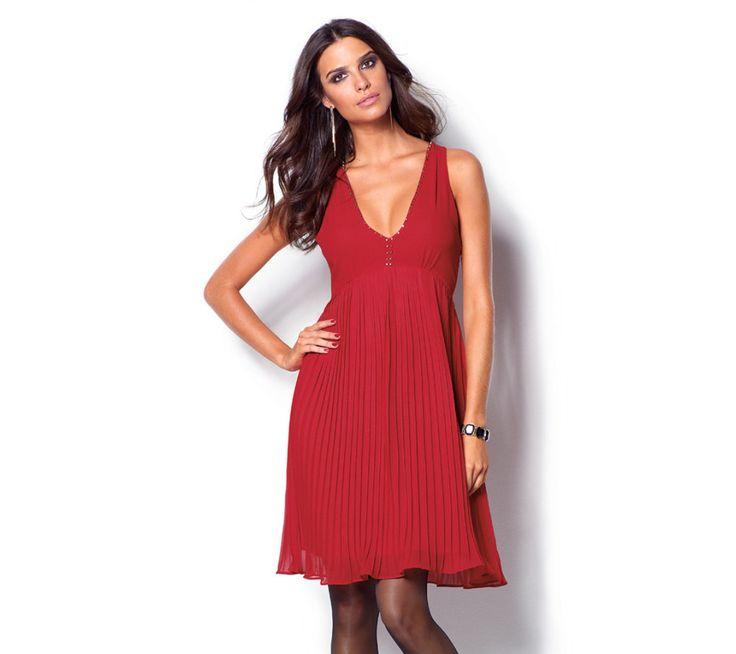 Plisované šaty s výstřihem | vyprodej-slevy.cz #vyprodejslevy #vyprodejslecycz #vyprodejslevy_cz #saty #dress
