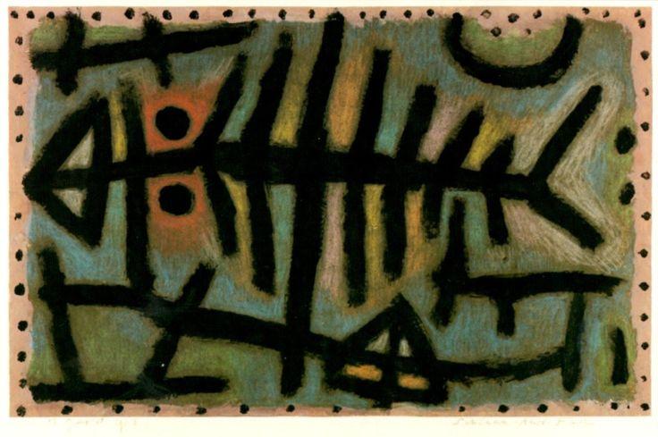 Paul Klee mud woodlouse fish