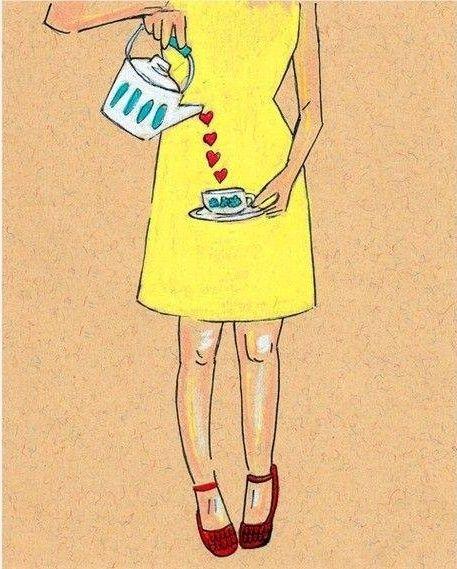 Bom dia!!  ❝ Com o coração repleto de amor e paz, com leveza na alma, com força e coragem pra enfrentar os desafios. Assim em mais um dia vou seguindo... com a fé me acompanhando, com DEUS me abençoando! ❞  Ana Paula Naponiello