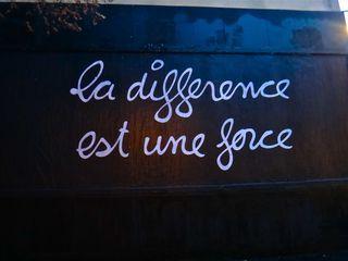 """la différence est une force - ben - association le """"mur"""""""