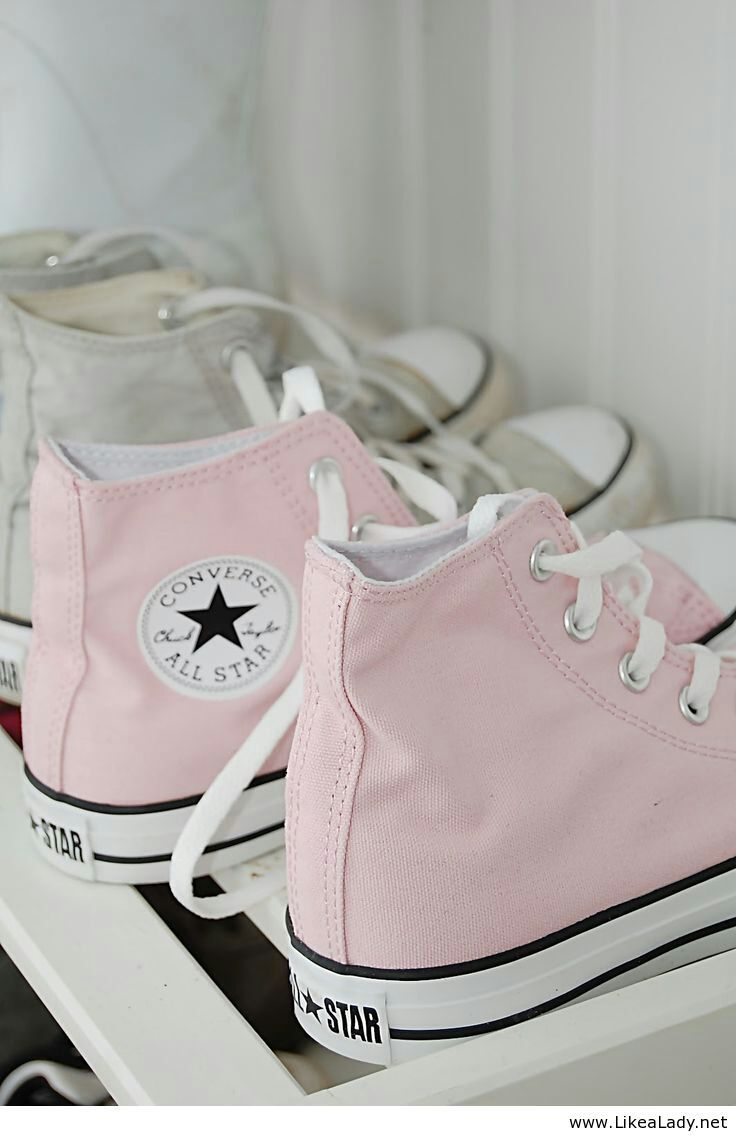 Light pink Converse | I would love to wear... | Pinterest