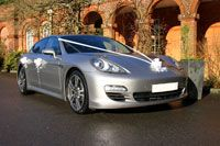 Porsche Panamera Wedding Car Hedge End Southampton Hampshire