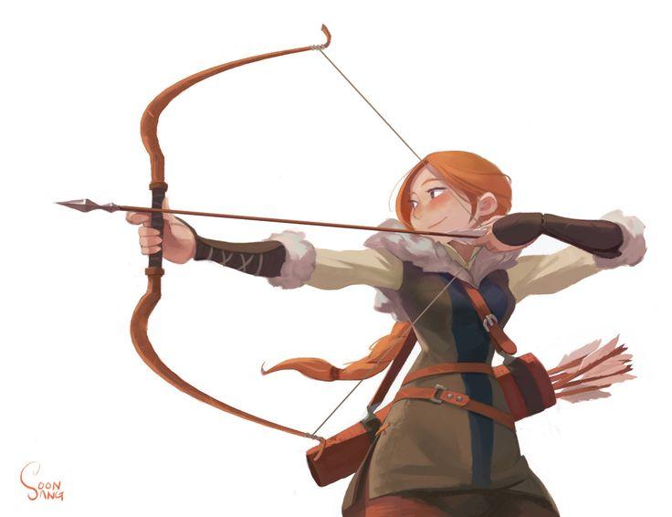 archer, Soon Sang Hong on ArtStation at https://www.artstation.com/artwork/archer-9f76299f-27df-47f2-a6f4-466a807f24f7