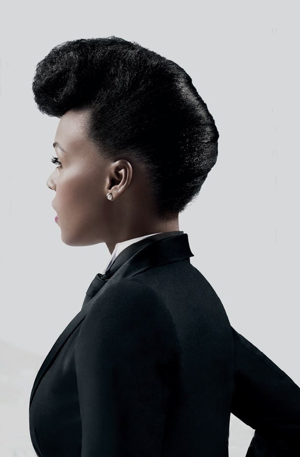 roll hair style 45 best images about janelle monae on victory 4683