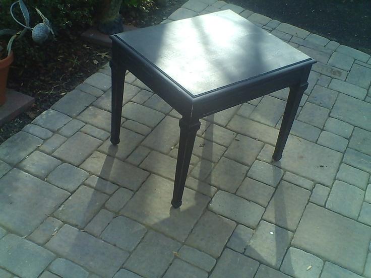 Lane Painted Antique Table