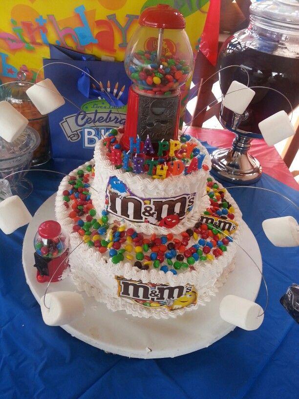 20 best MM cakes images on Pinterest Birthday ideas 3 birthday