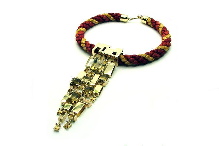 necklace by Jakub Sliwowski