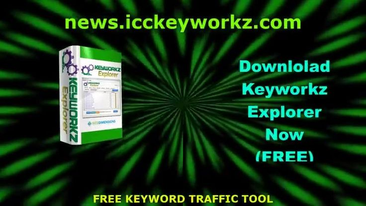 Free Keyword Traffic Tool SEO Keyword Software and Keyword Idea Tool Keyworkz Explorer Download Now https://www.facebook.com/seolunatic/videos/1181582291977913/ Keyworkz Explorer is a free keyword traffic tool that you'll want to keep among your free SEO tools for your website. Get it at https://news.icckeyworkz.com - If you want to learn how to do keyword research for free, definitely sign up for this SEO keyword software and the free keyword training that comes with it.     With our free…