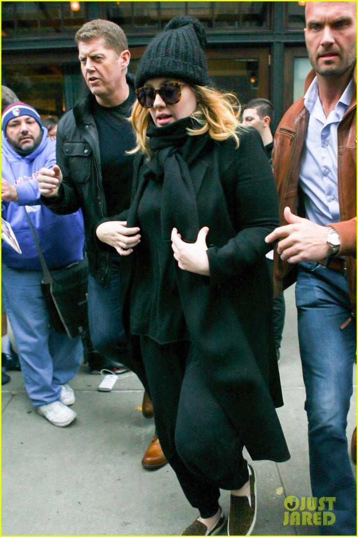 Adele's '25' Album Could Top N'Sync for Best First Week Ever | adele beanie new york city 01 - Photo