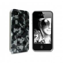 Forro iPhone 4 4S Puro - Minigel Army Negra  CO$ 28.819,36