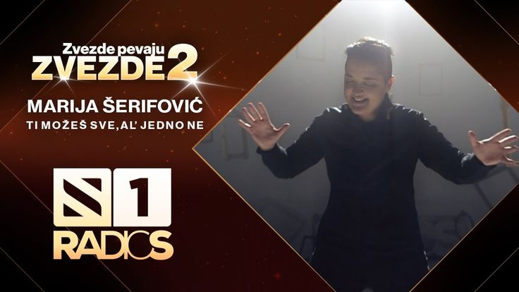 Marija Serifovic - Ti mozes sve,al' jedno ne - ZVEZDE PEVAJU ZVEZDE 2 - ...